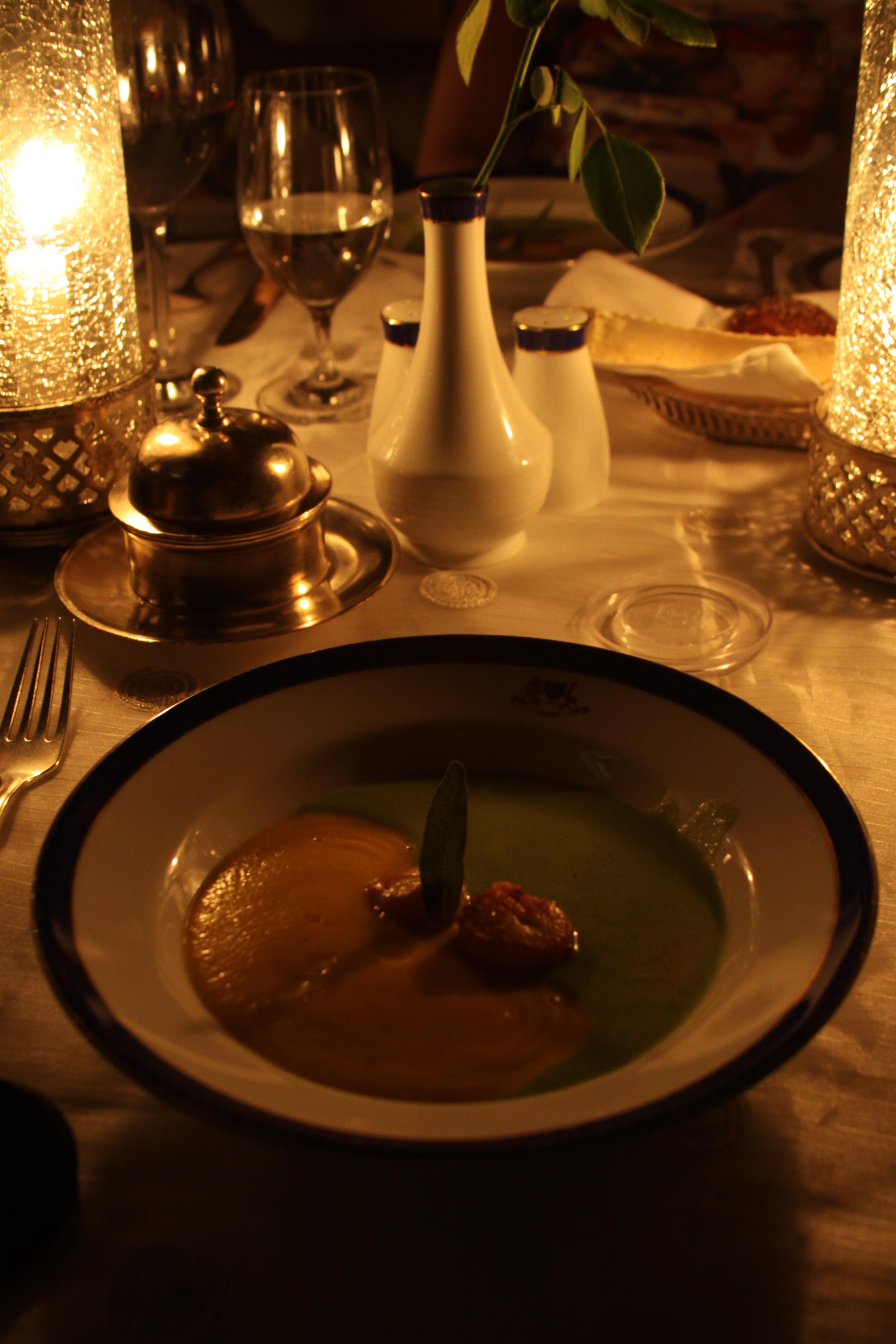 Oberoi dinner