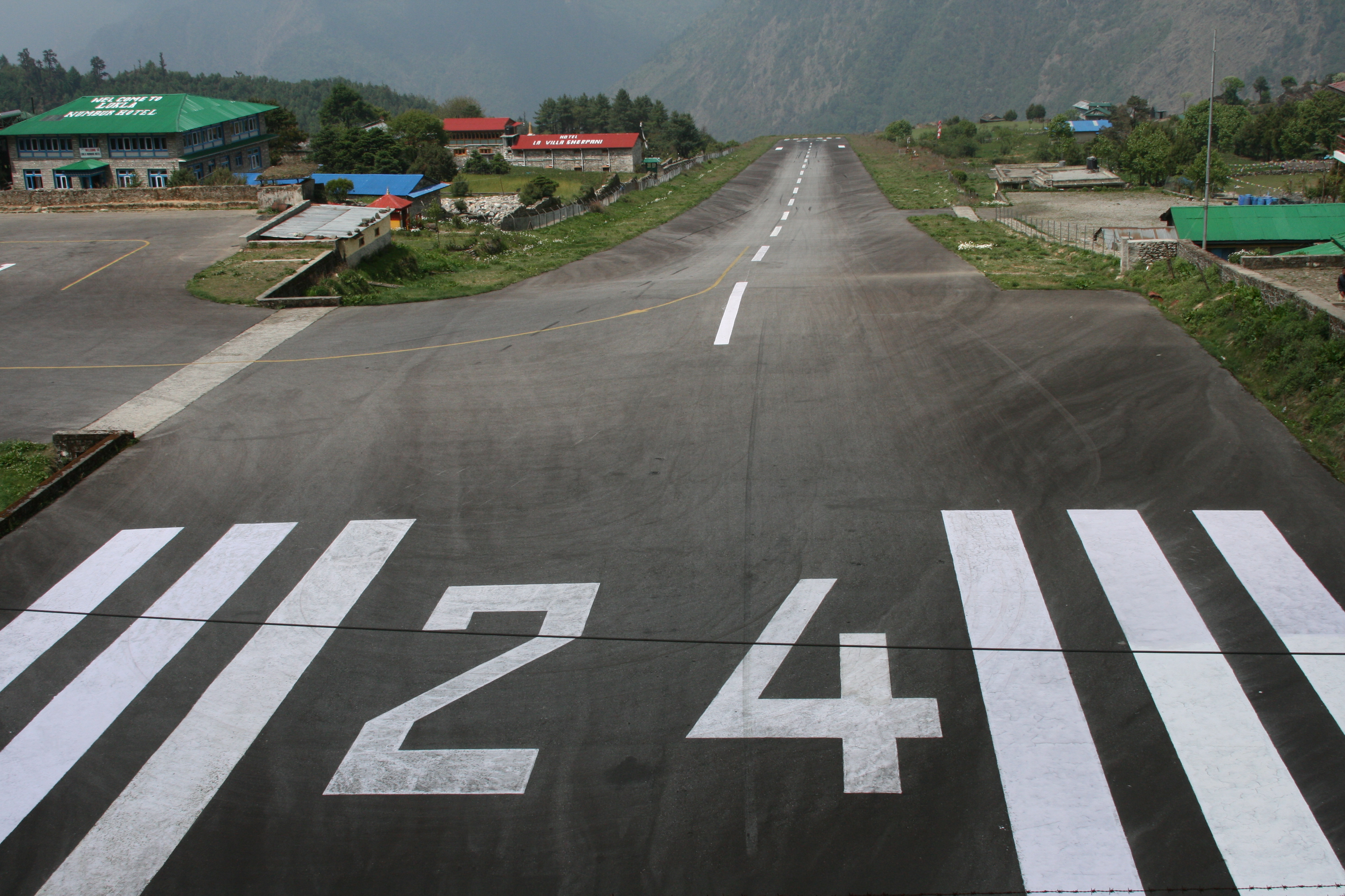 Always voted one of the most dangerous airports in the world