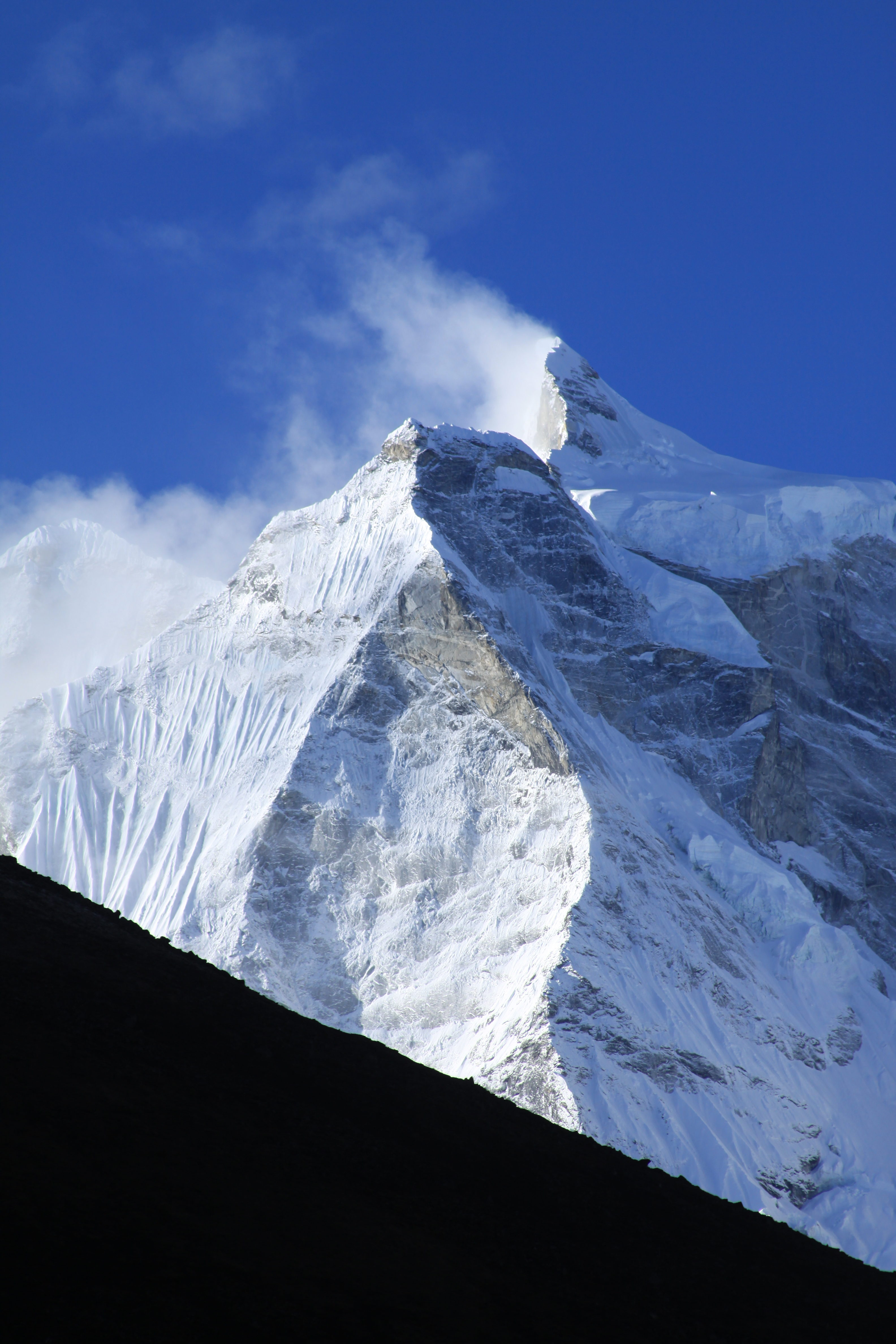 Just another crazy mountain in the Himalayas